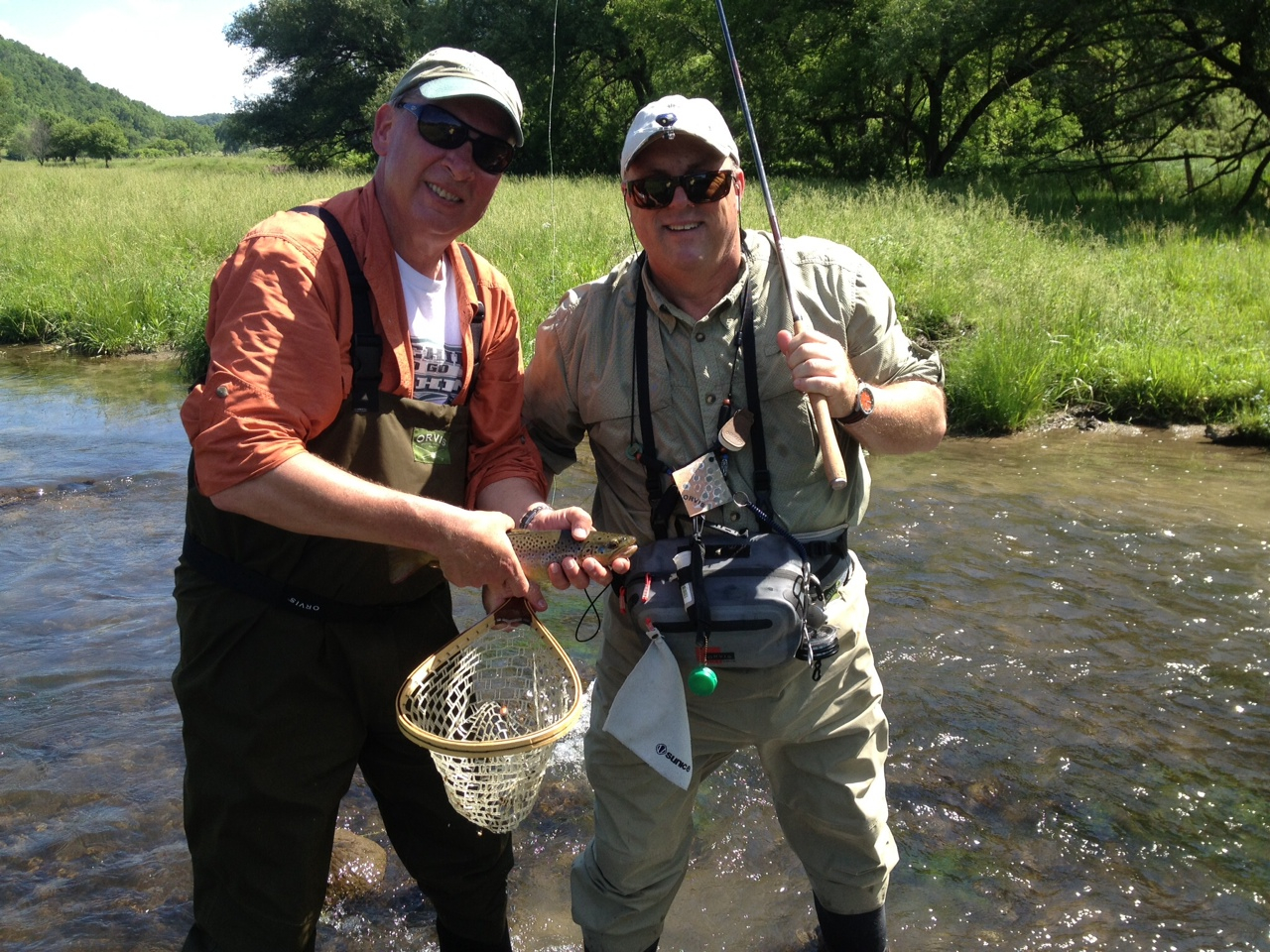 Mike warren trout the venturing angler for Fly fishing wisconsin