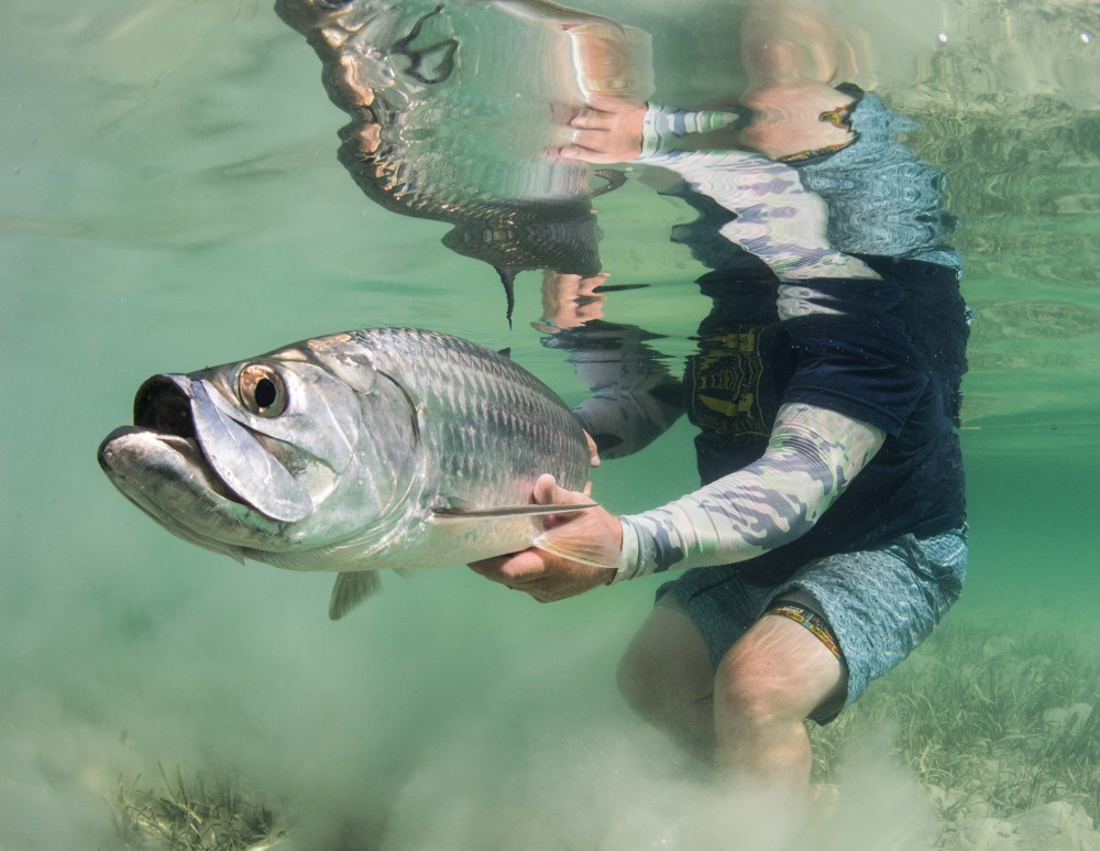 Chance to win a cuba tarpon fishing trip and simms for Simms fly fishing